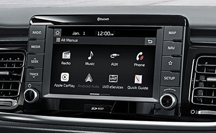 Kia Rio Connectivity.