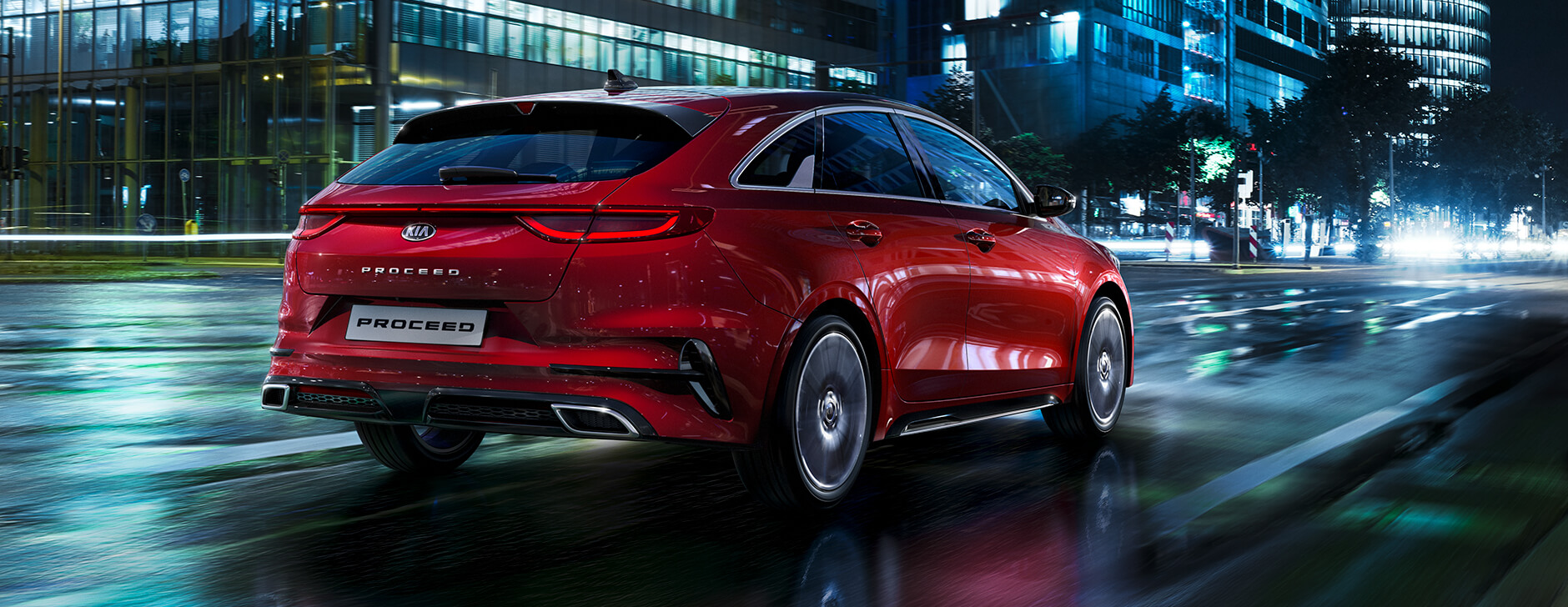 Kia Proceed rear